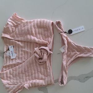 Vitamin A bikini ballerina bikini set,NWT,M/8